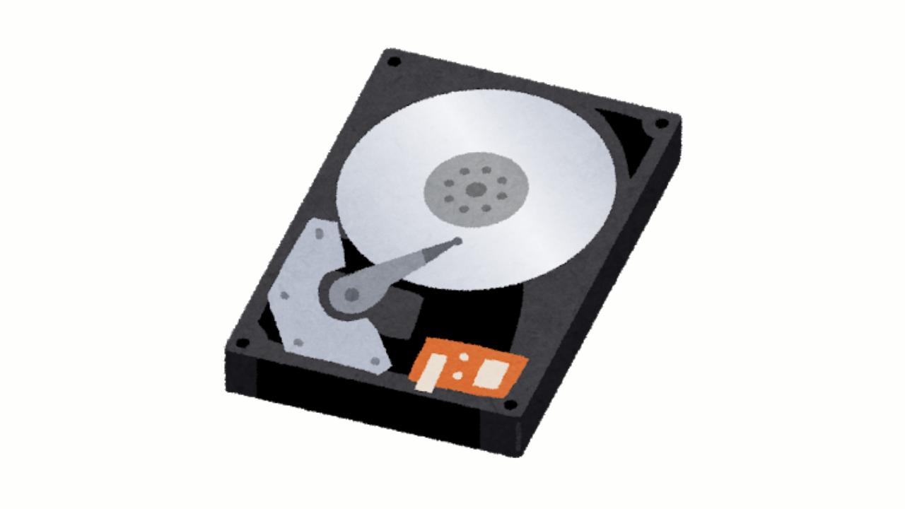 ハードディスクは「HDD」か「HD」か