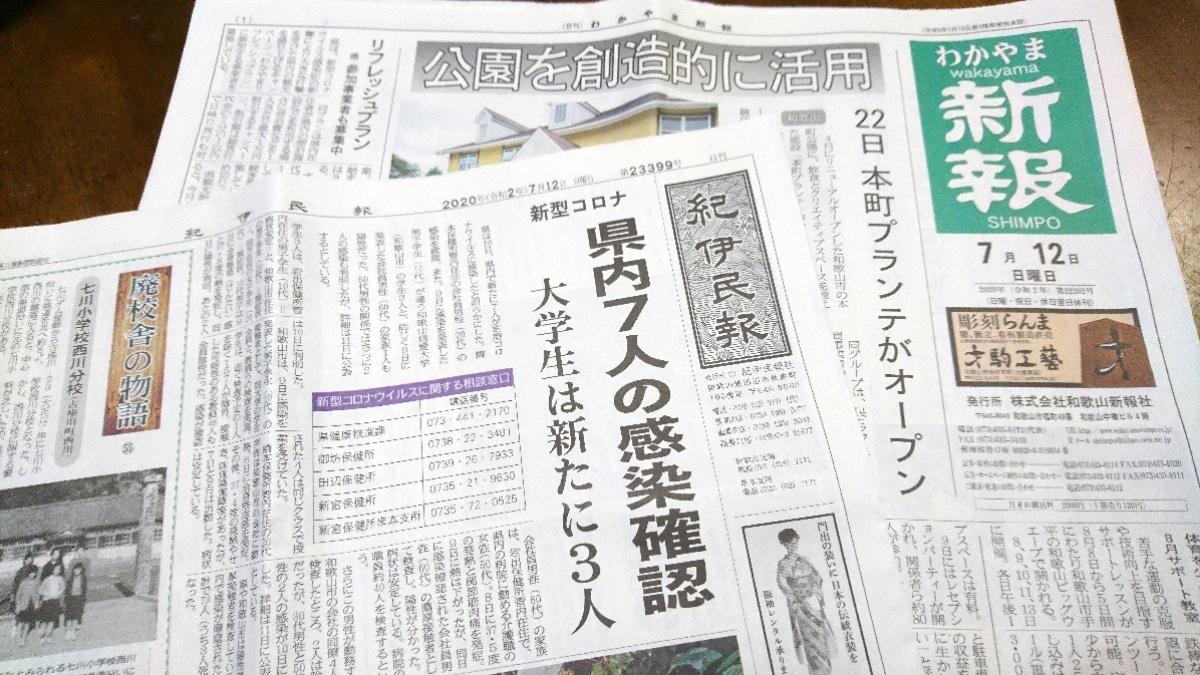 和歌山駅で買える地域紙
