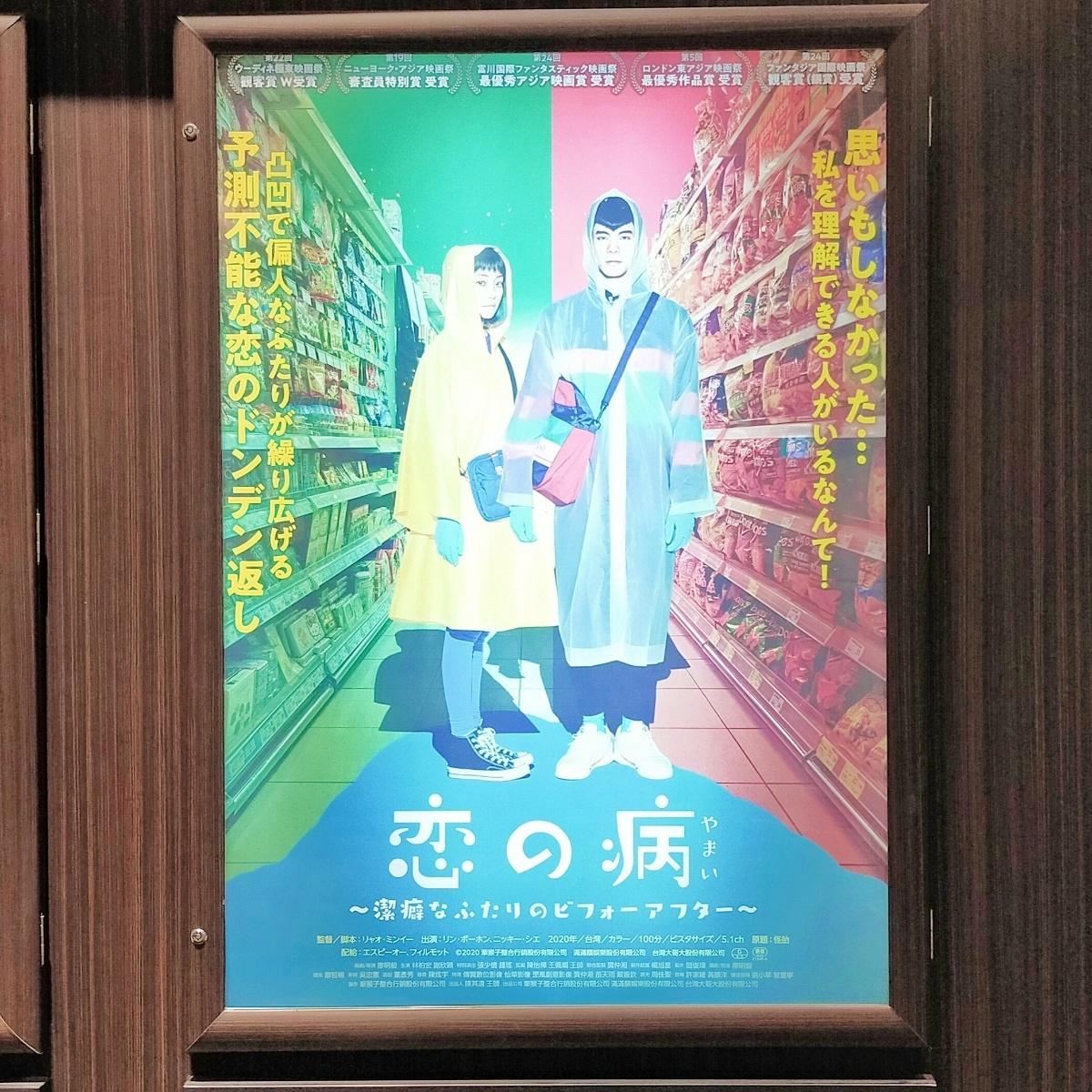 映画『恋の病~潔癖なふたりのビフォーアフター~』
